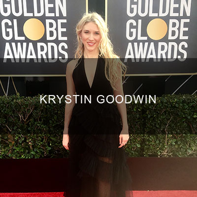 Krystin Goodwin resides in Los Angeles. She continues to work as an on-air personality in television, radio, and on the web. Her work can be viewed on USA Today, MSN, The Huffington Post, and on Yahoo.