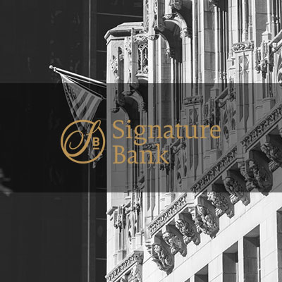 Commercial Banking Chicago-based Signature Bank provides accessible, strategic and highly individualized services, along with a customer experience that goes beyond the numbers.